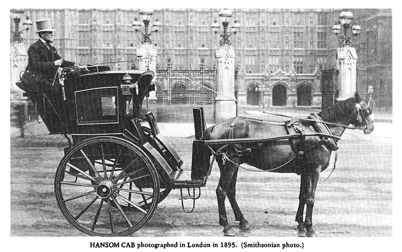 La prima carrozza-taxi per il trasporto pubblico