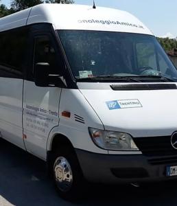 Noleggio minibus Trento