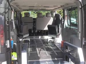 Pulmino per trasporto disabili Trento